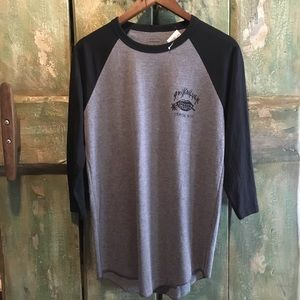 Quicksilver Baseball style shirt